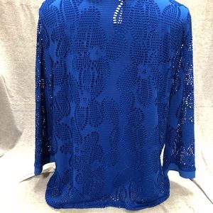 Alfred Dunner Tops - NWT-Alfred Dunner Royal Street Womens  Layered Top